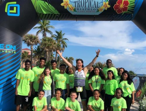 Bill Bone 2020 Tropical Triathlon a Success With Help of Lake Worth High School's Air Force Junior ROTC